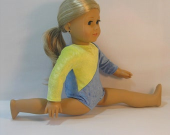 2061 - 18 Inch Doll Clothes Gymnastics Leotard fits American Girl