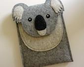 Koala iPad mini 1, 2, 3, 4 felt case