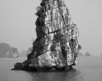 Collection of 3 Fine Art Photographs of Halong Bay, Vietnam