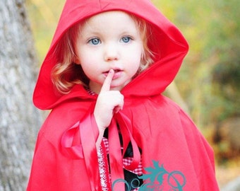 Little Red Riding Hood Dress and Cape