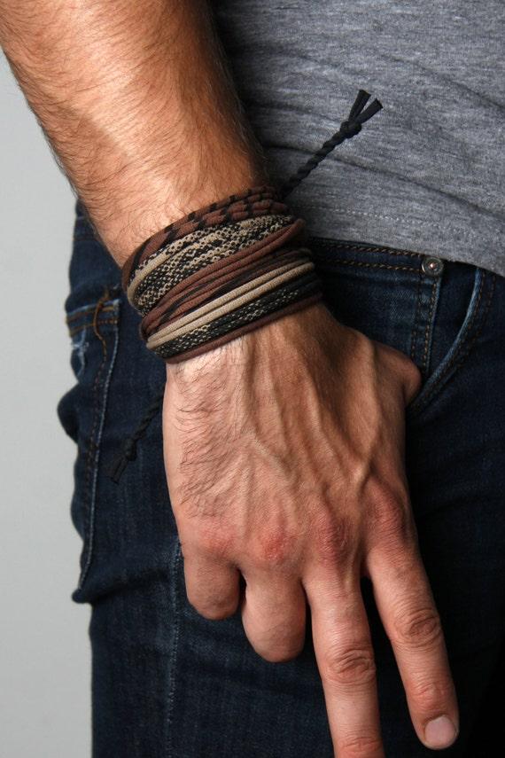 Boyfriend Gift, Mens Bracelet, Gift For Him, Wrap Bracelet, Gift For Men, Husband Gift, For Husband, Boyfriend, Hipster, For Him, Festival
