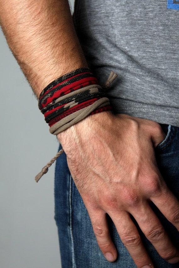 Man Gifts, Mens Wrap Bracelet, Mens Bracelet, For Him, For Men, Boyfriend, Boyfriend Gift, Gift for Him, For Husband, Gift for Dad, Dad Gift
