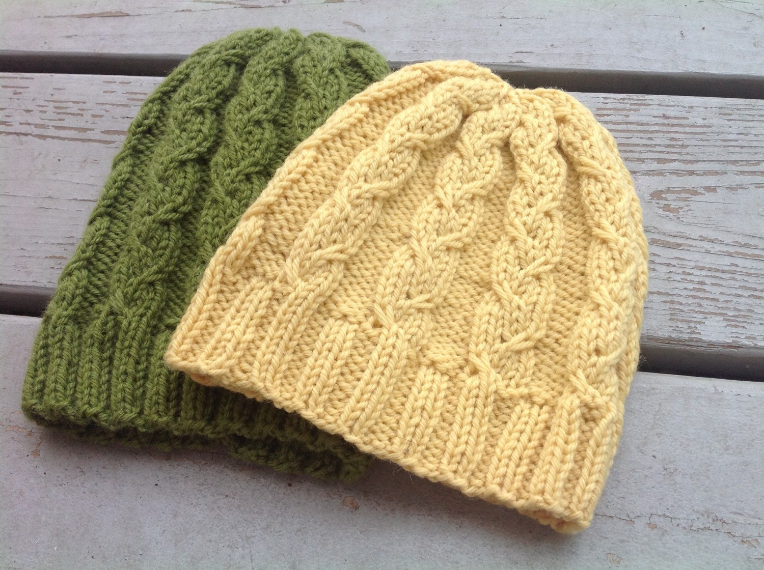 Knitting Pattern Cable Hat Easy : Cable Knit Hat Pattern Pattern for Knitted Hats Knitting Hat