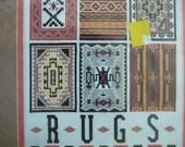 "NIP - Bucilla Counted Cross-Stitch Kit --- ""Indian Rugs"" by Linda Pietz"