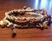Hemp and fiber wrist wrap/neckwrap