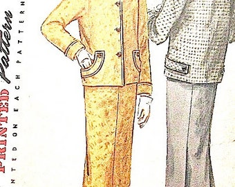 ON SALE  Vintage Pattern for two piece Misses' Suit from the 1950s  Simplicity 1311  Bust 30 inches