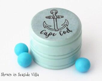 Cape Cod Anchor Pill Box - Non Toxic Vitamin Box - Cape Cod Anchor Ring Box - Engagement Ring Box - Cape Cod Souvenir - Summer Wedding