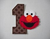 FReeShipping Ready to Ship  Number 1 Character fabric iron on applique