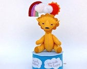 "Lion music box ""you are my sunshine"""