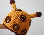 Giraffe Hat, Crochet Beanie, Animal Hat, Giraffe Costume, Children's Hat, Accessories, Crochet Giraffe, Boys Girls Men Women, Halloween, Zoo