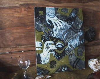 Posession - Slumber Party - original painting