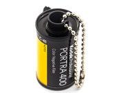 Recycled 35mm Film Keychain - Kodak Portra 400