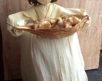 Harvest Bounty Corn Husk Doll