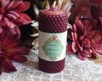 Shabby Witch Mabon Ritual Candle