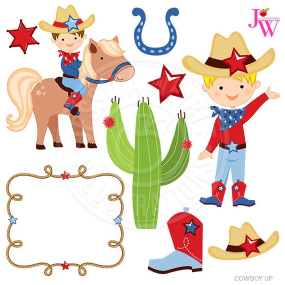 cowboy up cute digital clipart cowboy clip art cowboy graphics rh catchmyparty com dallas cowboys clipart images free cowboy clipart images