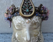 Mermaid Crown - replica from ONCE Upon A Time - Mr.Gold's Pawnshop at Disney World real shells, starfish, freshwater pearls gems OUAT Rumple