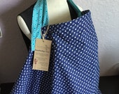 Free Shipping- Navy Arrows Breastfeeding Cover