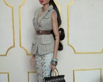 COCO - Purse for Barbie, Fashion Royalty, Momoko, Blythe