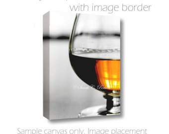 Masculine Wall Decor-Bourbon Art-Still Life Art-Bar Wall Decor-Fine Art Photography-Wall Canvas-Amber & White-Whiskey Wall Art-Gifts for Men