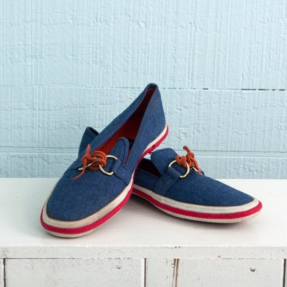 keds grasshoppers canvas shoes nautical white by
