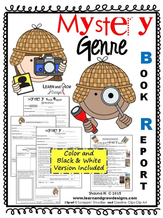 4th grade mystery book report If you do not complete the assignments you will receive a lower grade the book report will count mystery: these books have plots that 5th grade book reports.