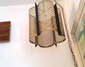 Mid Century Swag Lamp