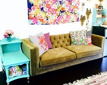 Bright and Colorful Neon Floral Print Wall Hanging Tapestry. Add the perfect splash of color for any room of your home, affordably.