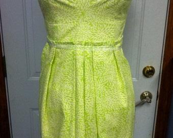 Lime Green Tunic Top