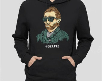 Van Gogh Sweatshirt | Vincent Van Gogh gift for artist shirt, funny hoodie, graphic hoodie, art teacher gift for hipster clothing, hoody