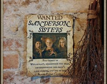 Sanderson Sisters Print inspired by Hocus Pocus