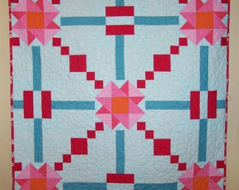 Wall Hanging, Table Runner, Baby Quilt, Quilt, Homemade Quilt, Quilts on Sale, Clearance, , Busy Hands Quilts