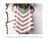 Tropic Summer Top - Crochet Pattern - Instant Download