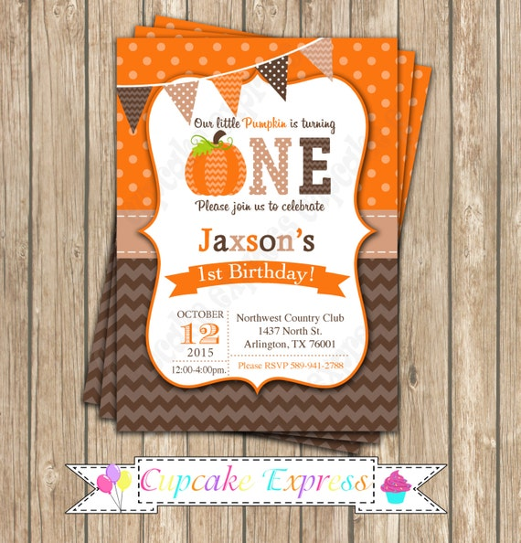 Items Similar To Pumpkin Patch One First Birthday Boy