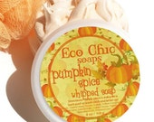 Whipped Soap - Pumpkin Spice Whipped Soap - Creamy Soap in a Jar - Body Wash - Vegan