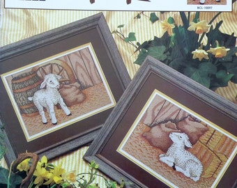 Cross Stitch Pattern LAMBS FOR SALE By Gary D Hanner For True Colors