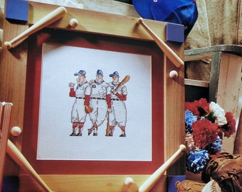 Cross Stitch Pattern BASEBALL BOYS - fam