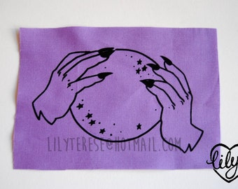 SALE Witch Crystal Ball Patch