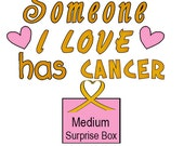 Support Childhood Cancer Research - Medium Surprise Box Gift - ALL Proceeds Donated - Soap - Candles - Wax Melts - Perfume - Air Fresheners