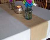 Wedding Burlap Table Runners Set of 8 - 12 Inches Wide - Choice of Length and Colors - Rustic Wedding Table Settings - Fall Wedding