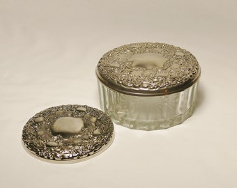 Vintage Powder Dish and Two Mirrors