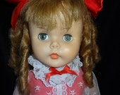 RESERVED.... Horsman Little Girl Doll Ruthie