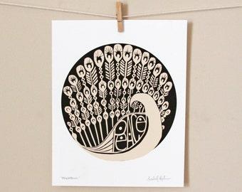 Peace Fowl art print