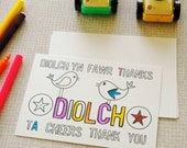 Diolch / Thank you Postcards (Pack of 5)