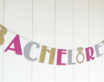 Bachelorette Banner . Wedding Banner . Bachelorette Decorations . Bachelorette Party . Glitter Wedding Banner . Bridal Shower