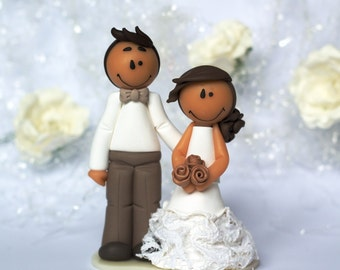 "Wedding cake topper ""Emily"" - AVAILABLE / Ready to ship"