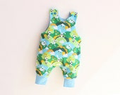 JUMPY Reversible HAREM Romper pattern Pdf Children Baby Boy Girl ,  Harem Romper pattern, toddler newborn 3 6 9 12 18 m 1, 2 3 4 5 6 yrs