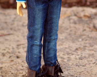 "Colvins Jeans PDF sewing pattern for 18"" Kaye Wiggs MSD dolls"