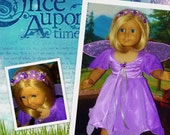 Sparkling Woodland Fairy Costume  fits American Girl Dolls