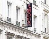 Paris Photograph - Hotel Amour, Paris Architecture Fine Art Photograph, Travel Photo, Neutral Decor, Large Wall Art, Home Decor