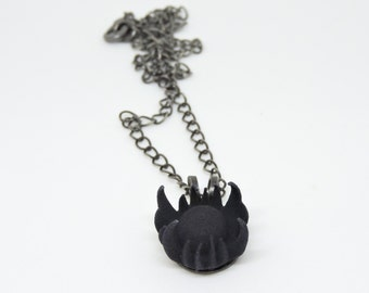 Regret 3D Printed Choker - Eldritch Inspired Necklace, Horror, Pendant, Strong & Flexible Plastic